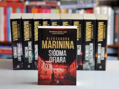 Książki Aleksandry Marininy – seria z Aleksandrą Kamieńską