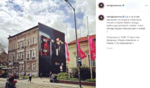 Mural Opole Remigiusz Mróz