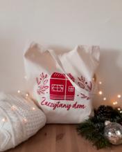 """Świąteczna torba """"Zaczytany dom"""""""